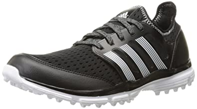 adidas Men's Climacool Golf Spikeless, Core Black/Ftwr White/Ftwr White, 8