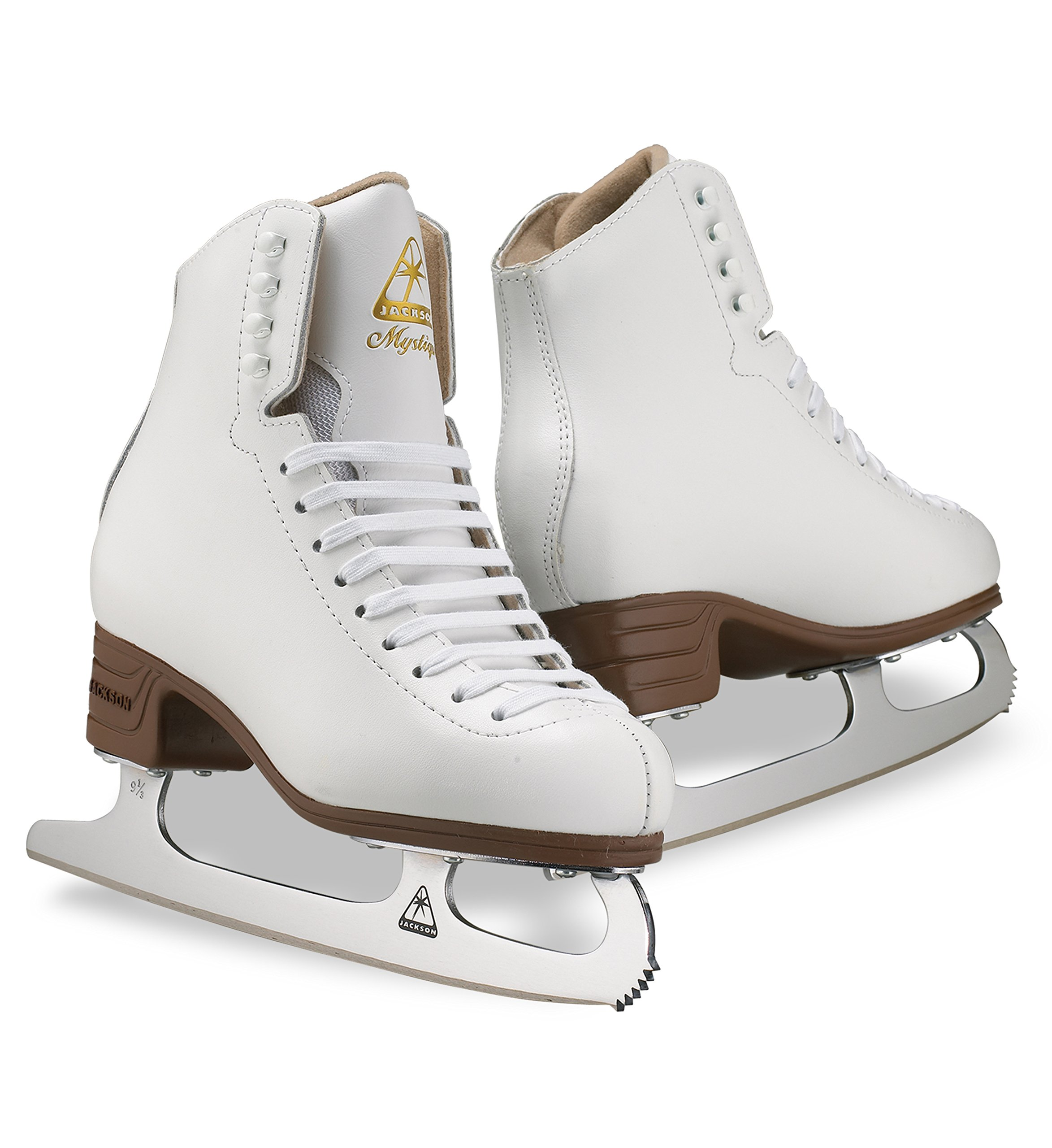 Jackson Ultima Mystique JS1491 White Kids Ice Skates, Size 2.5 by Jackson Ultima