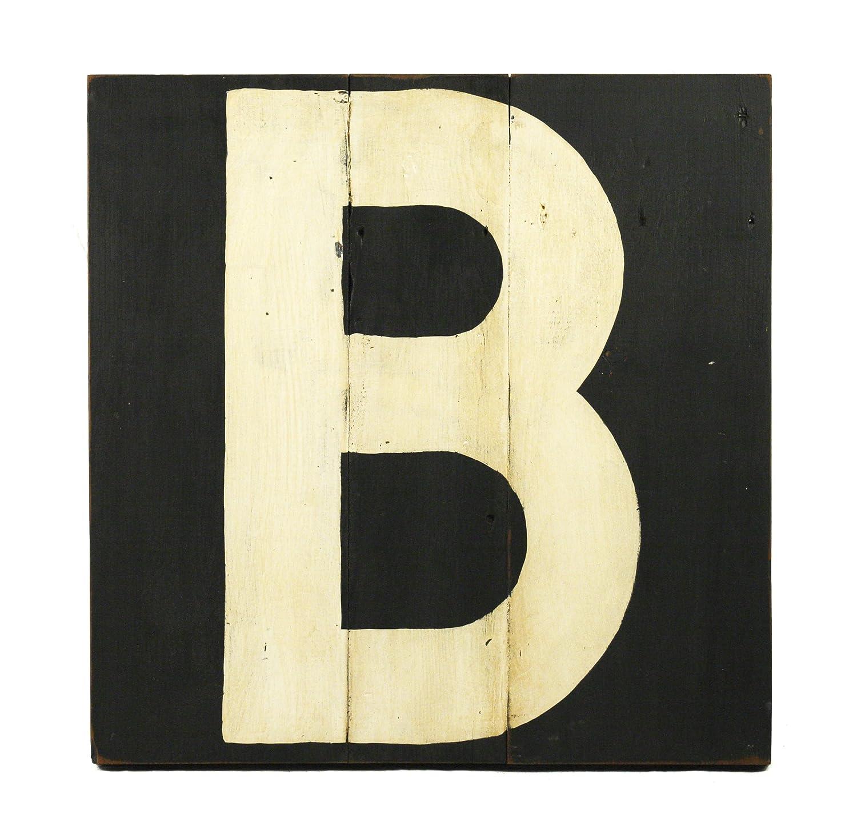 Zentique Holz Buchstabe, Monogramm B