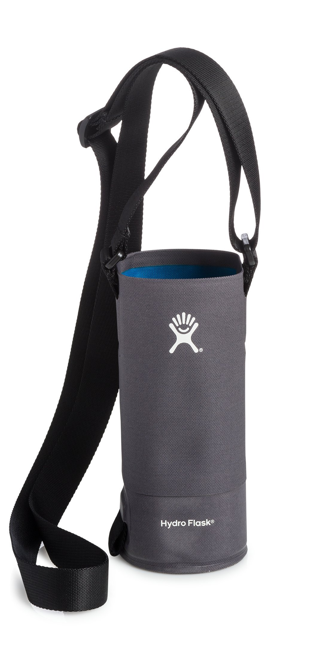 Hydro Flask Small Soft Sided Nylon Tag Along Water Bottle Sling with Pockets, Black (Fits 12 oz, 18 oz, 21 oz, and 24 oz Bottles)