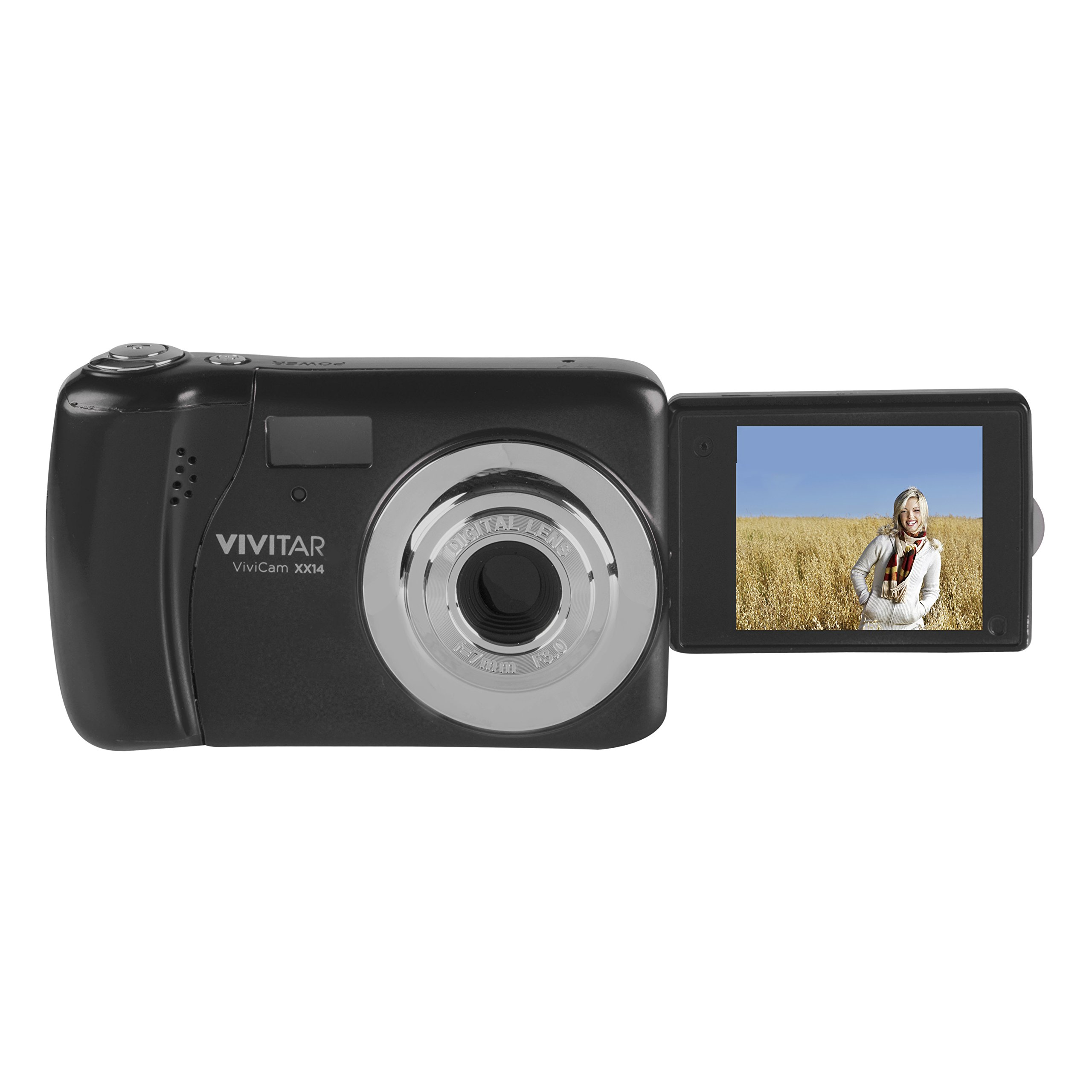 Vivitar 20.1 MP Digital Camera with 1.8'' LCD, Colors and Style May Vary by Vivitar