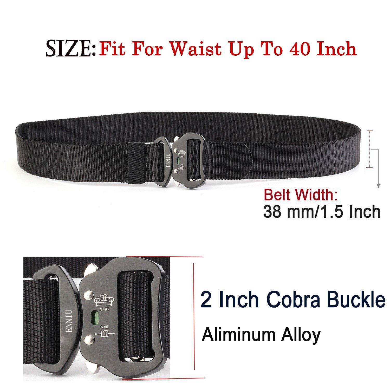 AIZESI 1 7 Men Tactical Belt Military Webbing Riggers Belt