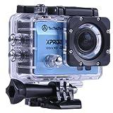 [NEW] TecTecTec XPRO2 Videocámara deportiva 4K Ultra HD WiFi con carcasa sumergible - Azul