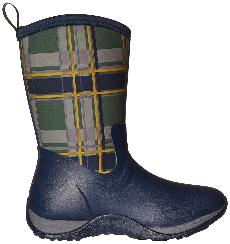 Muck Boot Women's Arctic Weekend Mid Snow B00TT36C8S 10 B(M) US|Navy/Green Plaid