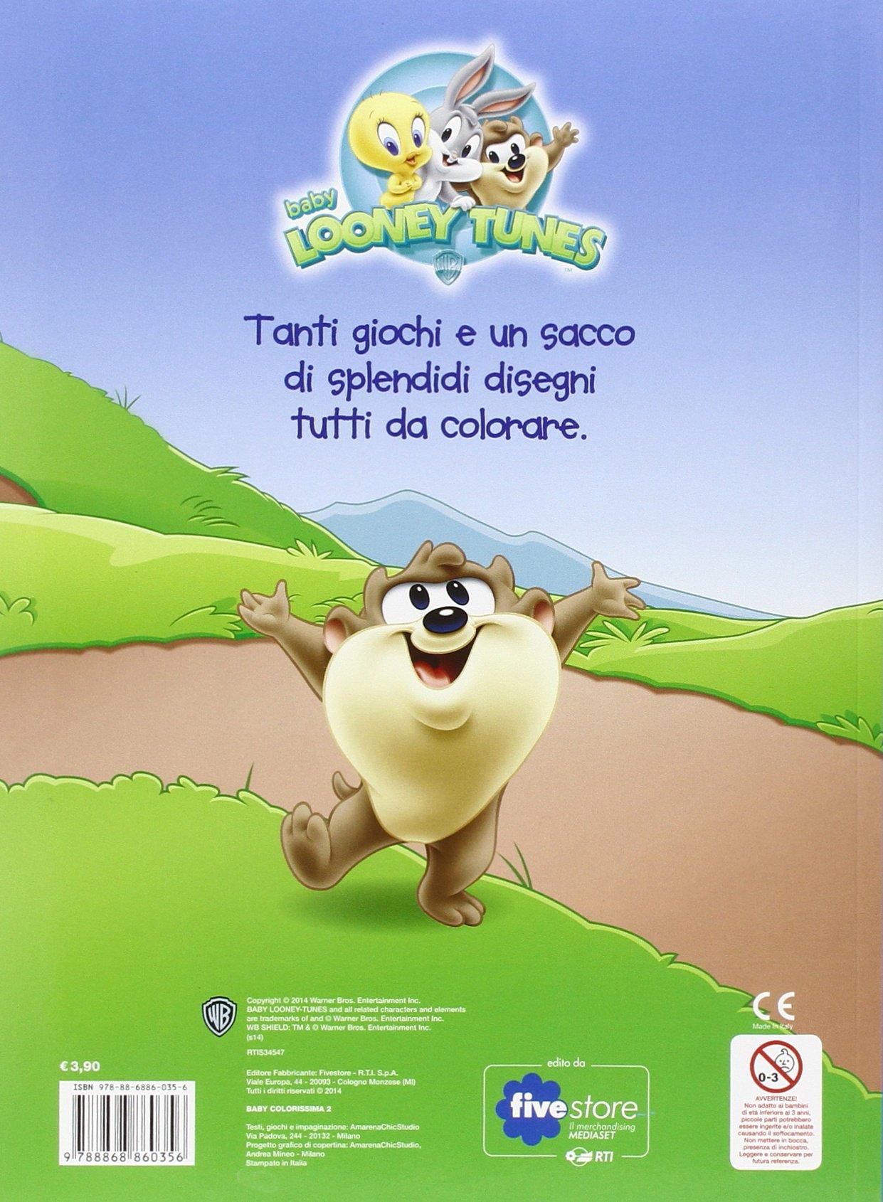 Amazon It Baby Colorissima 2 Baby Looney Tunes Ediz Illustrata