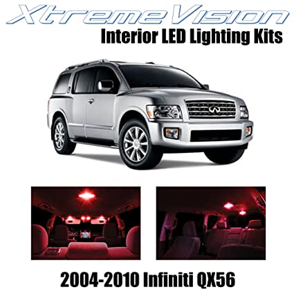 Amazon Xtremevision Infiniti Qx56 2004 2010 13 Pieces Red