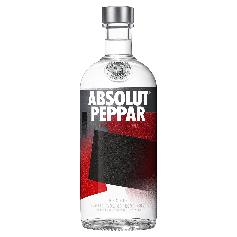 absolut peppar vodka