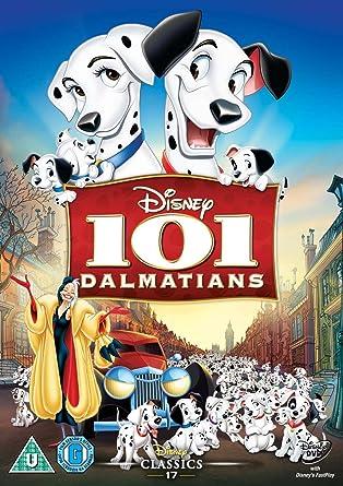 101 dalmatians dvd 1961 amazon co uk wolfgang reitherman