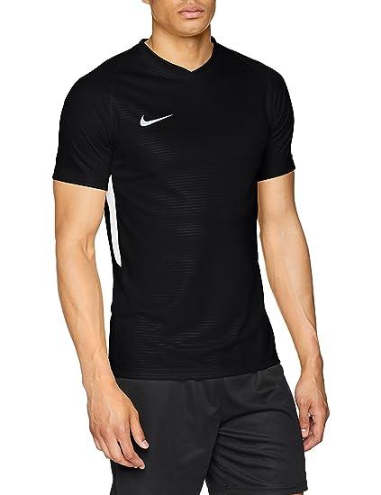 Nike Tiempo Premier SS Sudaderas, Hombre, Negro, 2XL