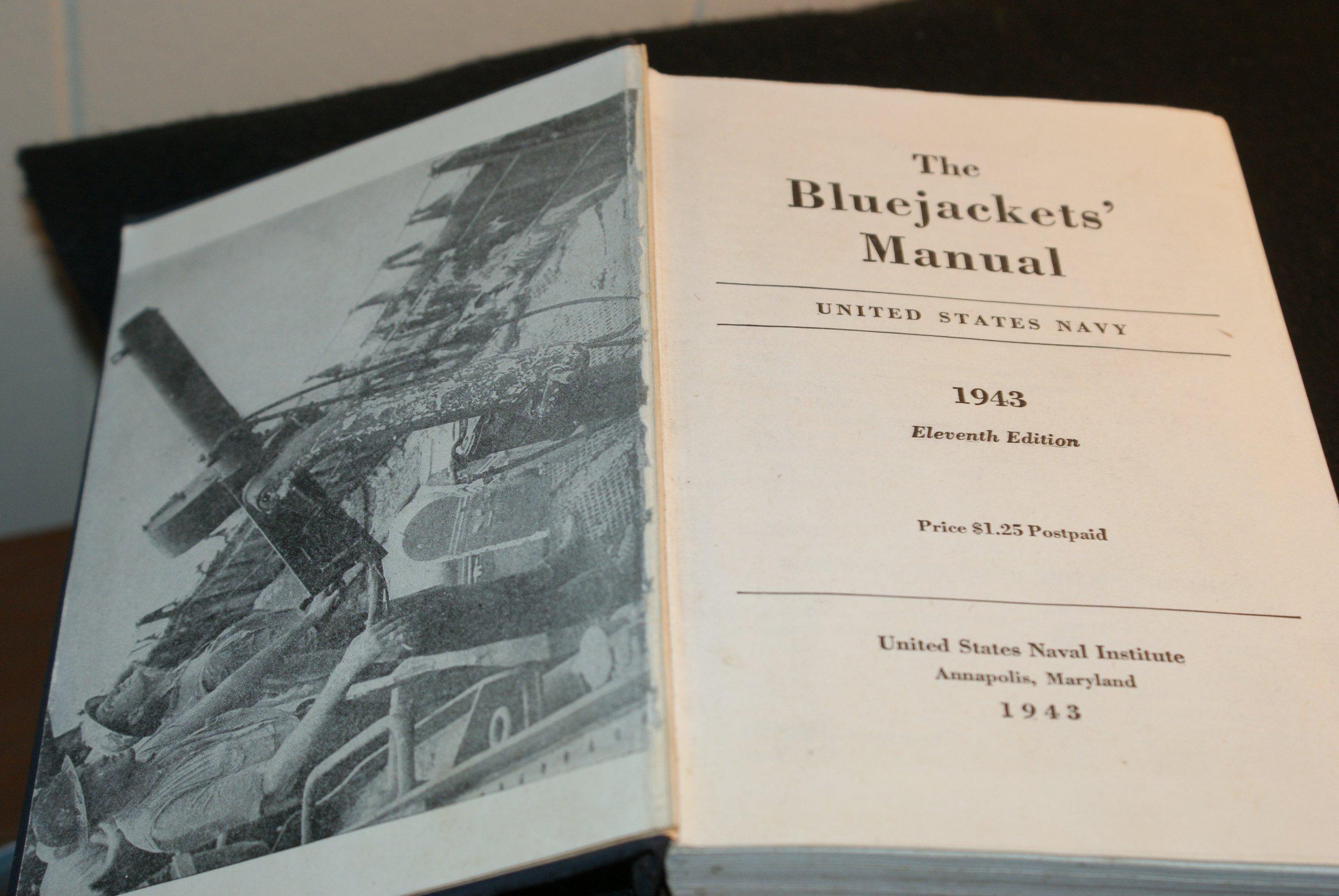 Bluejackets Manual 1943 11TH Edition: United States Navy: Amazon.com: Books