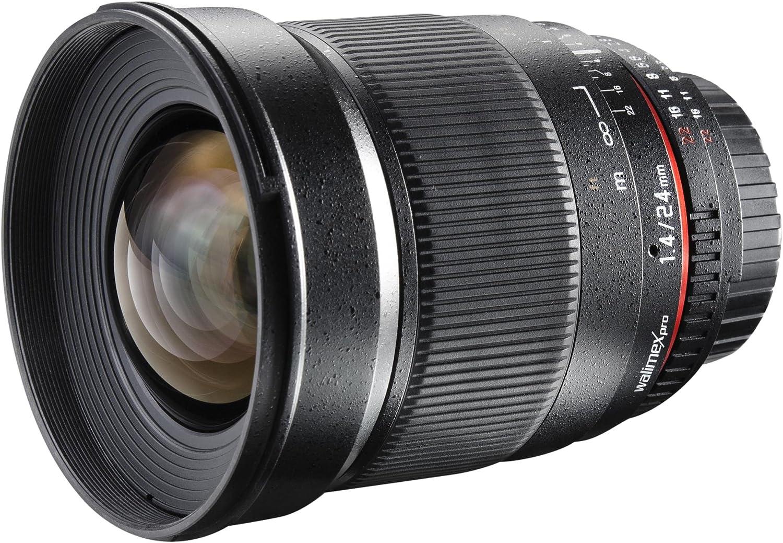 Walimex Pro 24mm 1 1 4 Csc Weitwinkelobjektiv Für Canon Kamera
