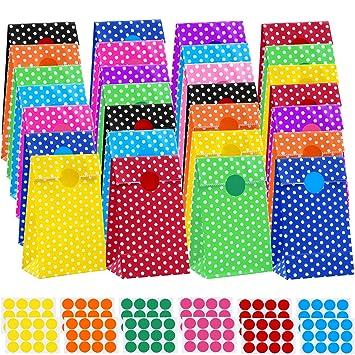 Amazon.com: Cooraby - Bolsas de papel para fiestas de ...