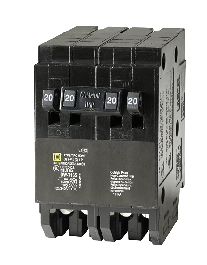 Square D by Schneider Electric HOMT2020220CP Homeline 2-20-Amp ...