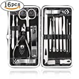 Teamkio Manicure Pedicure Nail Clippers Set