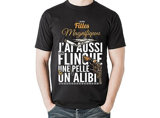 T shirt humour parodie papa fêtes des pères