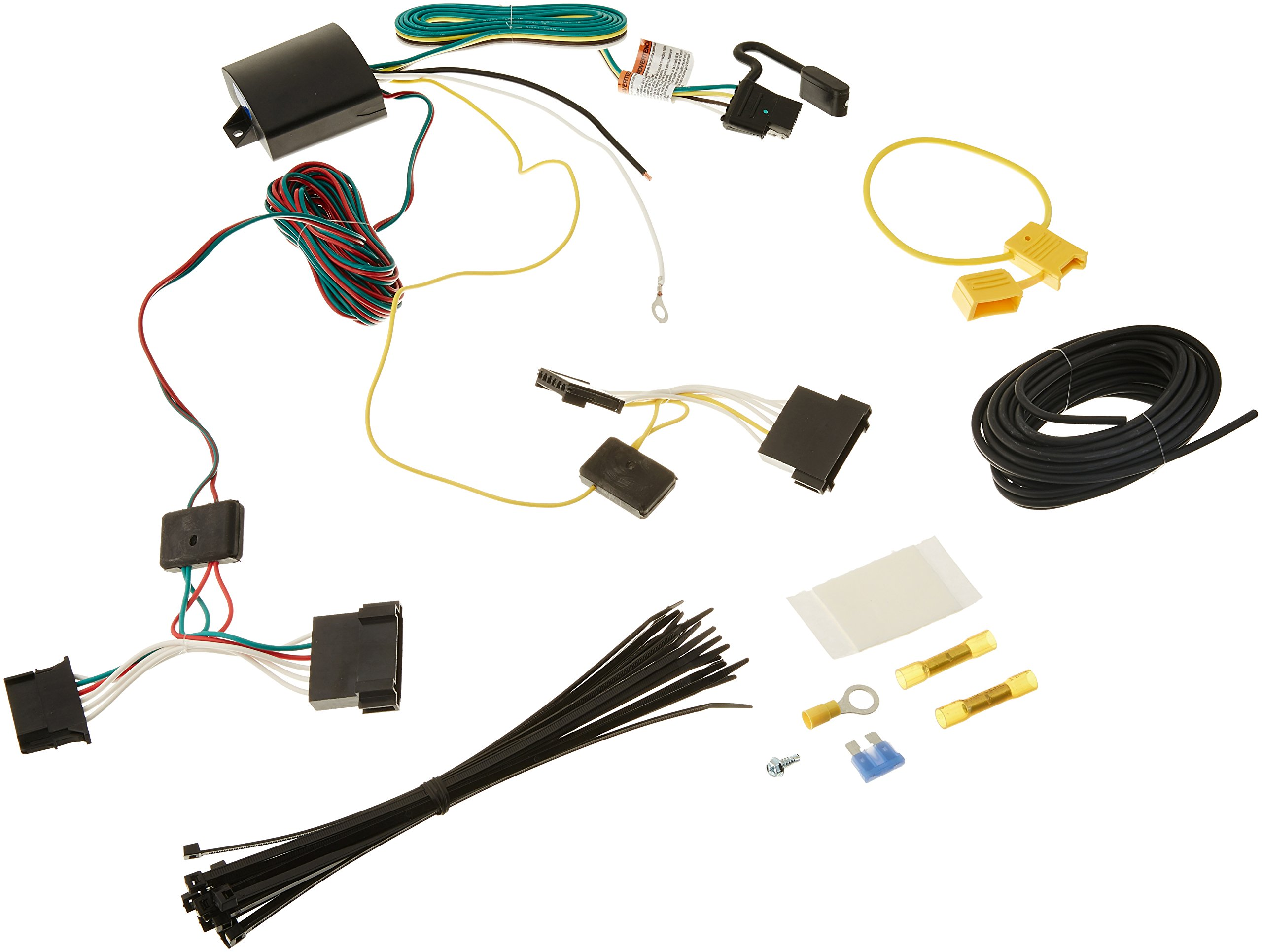 Tekonsha 118649 T-One Connector Assembly w/Upgraded Circuit Protected ModuLite HD Module by Tekonsha