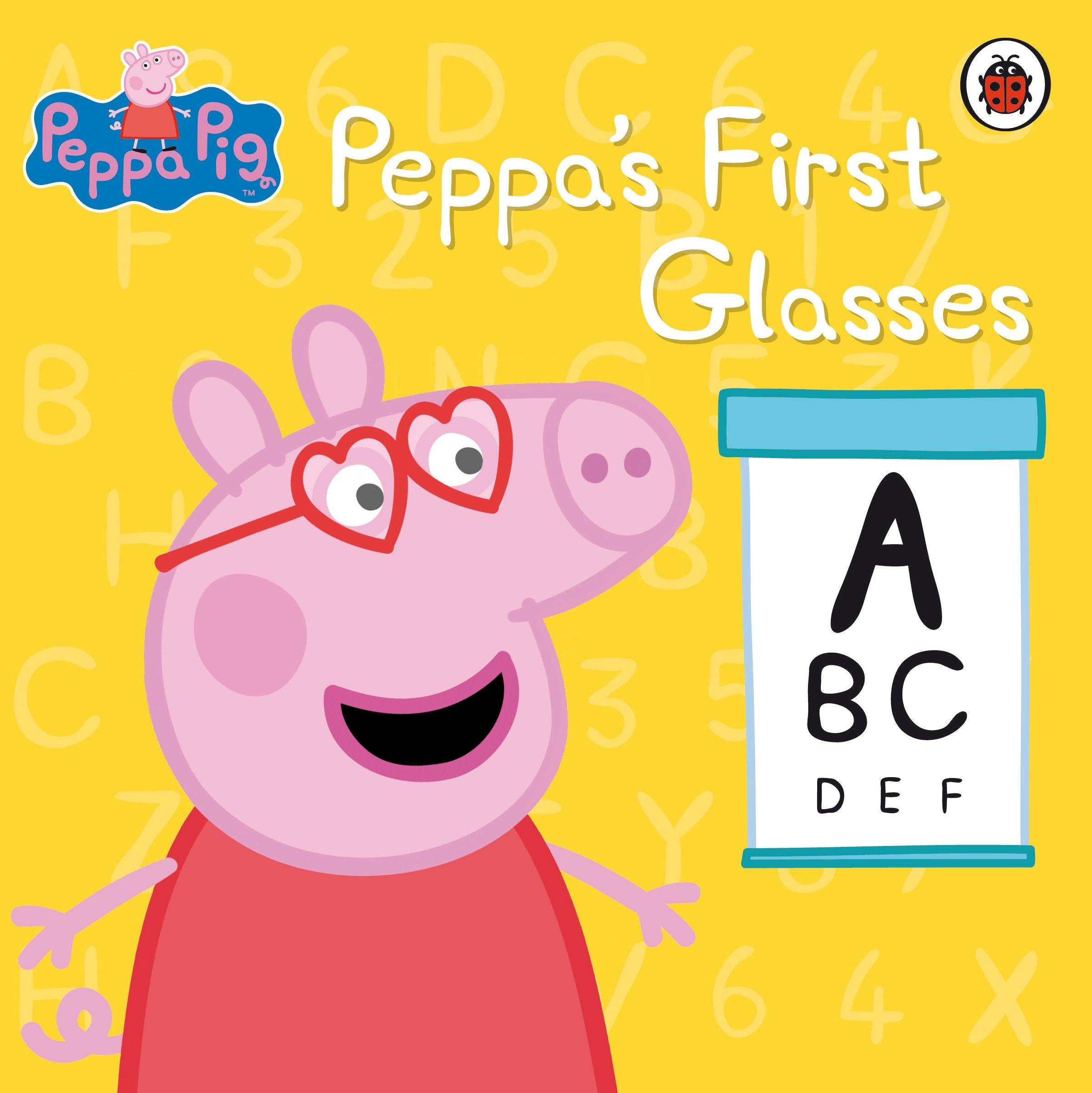 Peppa Pig Peppa S First Glasses Amazon Co Uk Peppa Pig Books