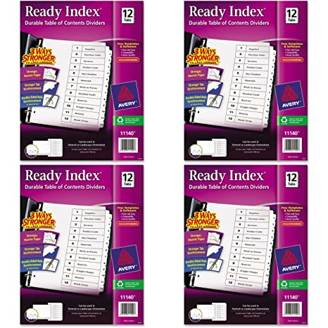 Purple Text White Page Divider
