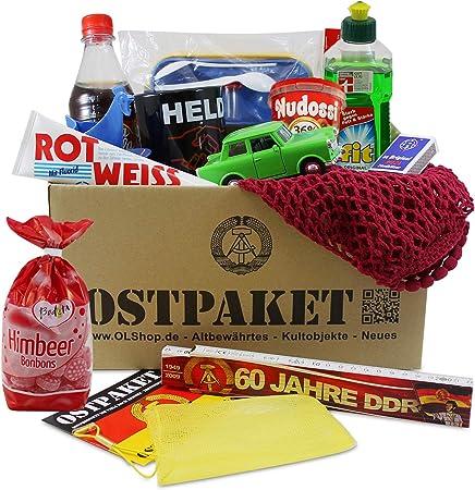 OLShop AG ostpaket Kult Productos grande con 13 típicos Productos de la DDR regalo Idea Inter Shop ostprodukte DDR Kult Productos: Amazon.es: Hogar
