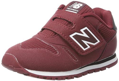 New Balance 373v1 Sneaker Unisex Bambini Rosso Burgundy 33 EU Scarpe