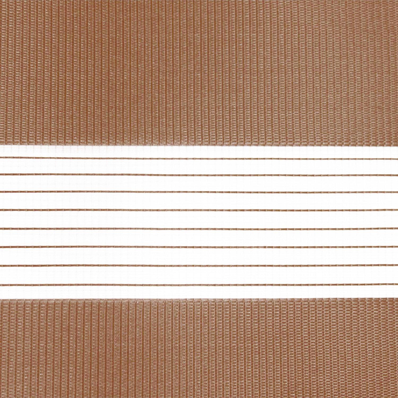 Victoria M. - Estor doble enrollable (para ventanas y puertas) 160 x 230cm, marrón: Amazon.es: Hogar