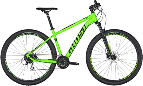 Ghost Kato 3.9 Mountain Bike, Color Riot Green/Night Black, tamaño ...