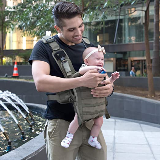 Baby Carrier for Men Front Baby Holder for Dad