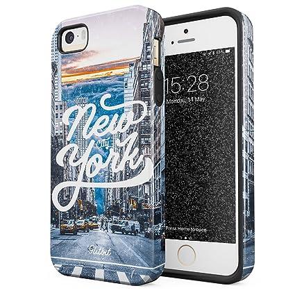 Amazon.com: glitbit iPhone 5, iPhone 5S, iPhone se funda ...