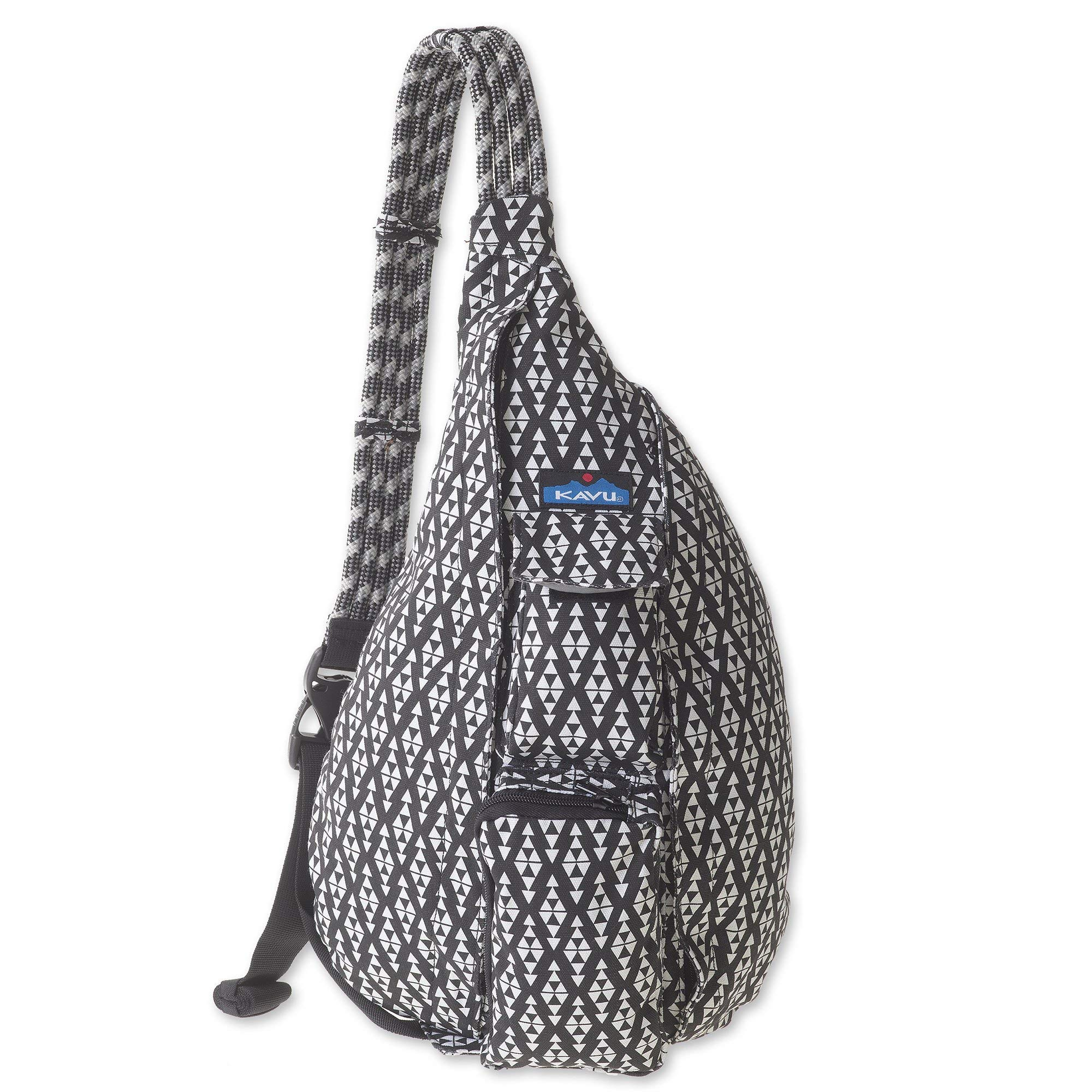 KAVU Rope Bag - Sling Pack for Hiking, Camping, and Commuting - BW Trio
