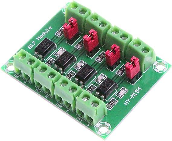 PC817 4-Channel Optocoupler Isolation Module Voltage Converter Modul D QE