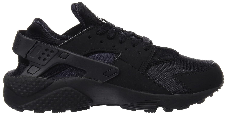 NIKE Men's Air Huarache Running Shoes B00MWECYZG 7 D(M) US|Black/Black/White