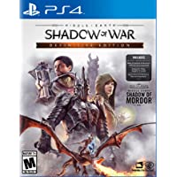 Middle Earth: Shadow Of War Definitive Edition for PS4 or Xbox One
