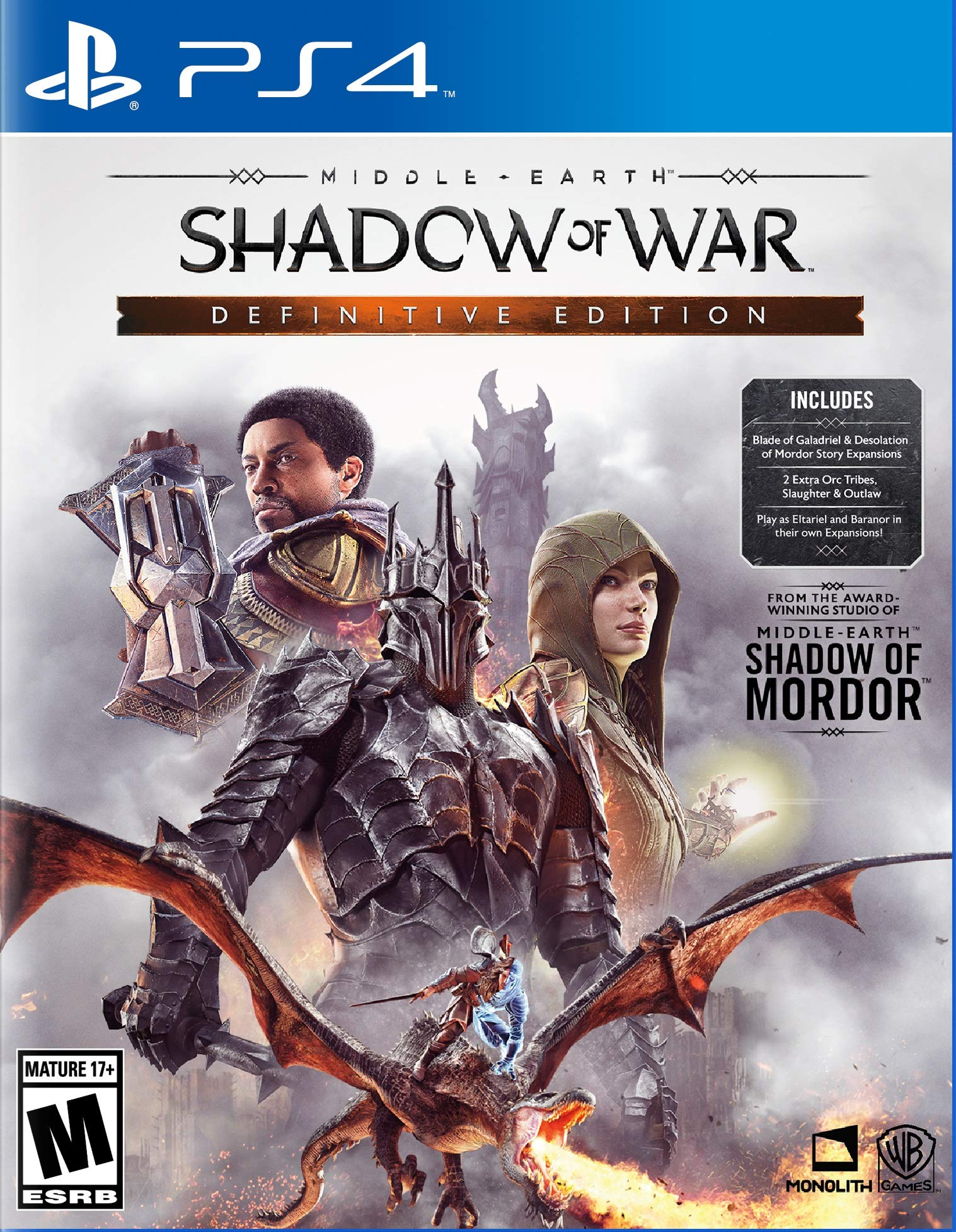 Middle-earth: Shadow Of War Definitive Edition - Play (fz4b)