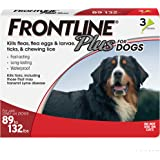 FRONTLINE Plus Flea and Tick Treatment for Dogs (Extra Large Dog, 89-132 Pounds)
