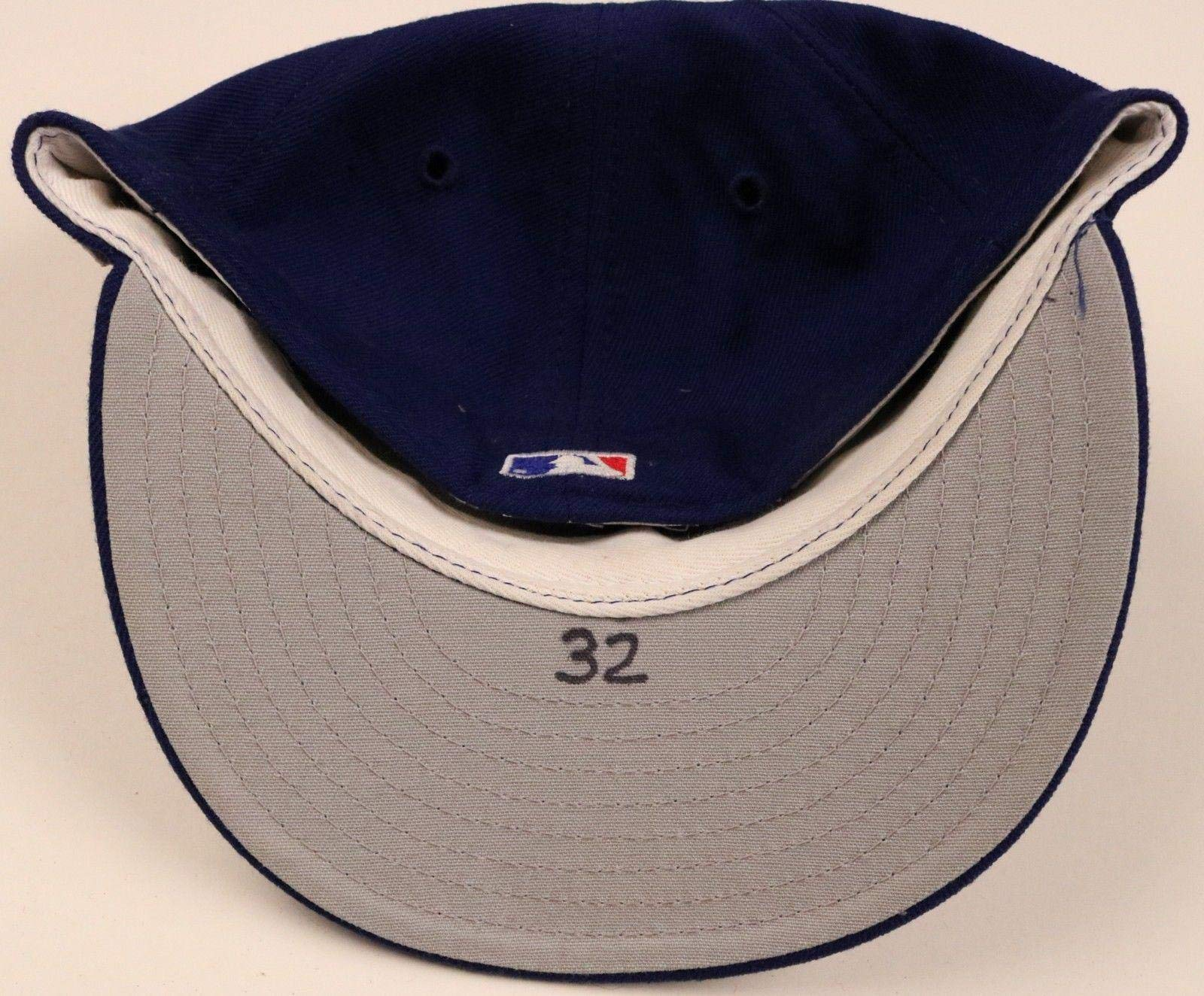 Texas Rangers #32 Game Used Worn Hat/Cap Game Used MLB Hats