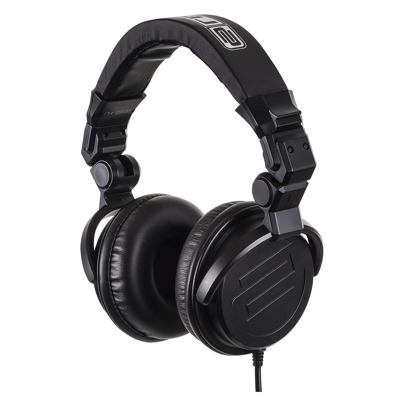 Reloop RH-2500 Professional DJ Headphones, Folding, Closed, Black AMS-RH-2500
