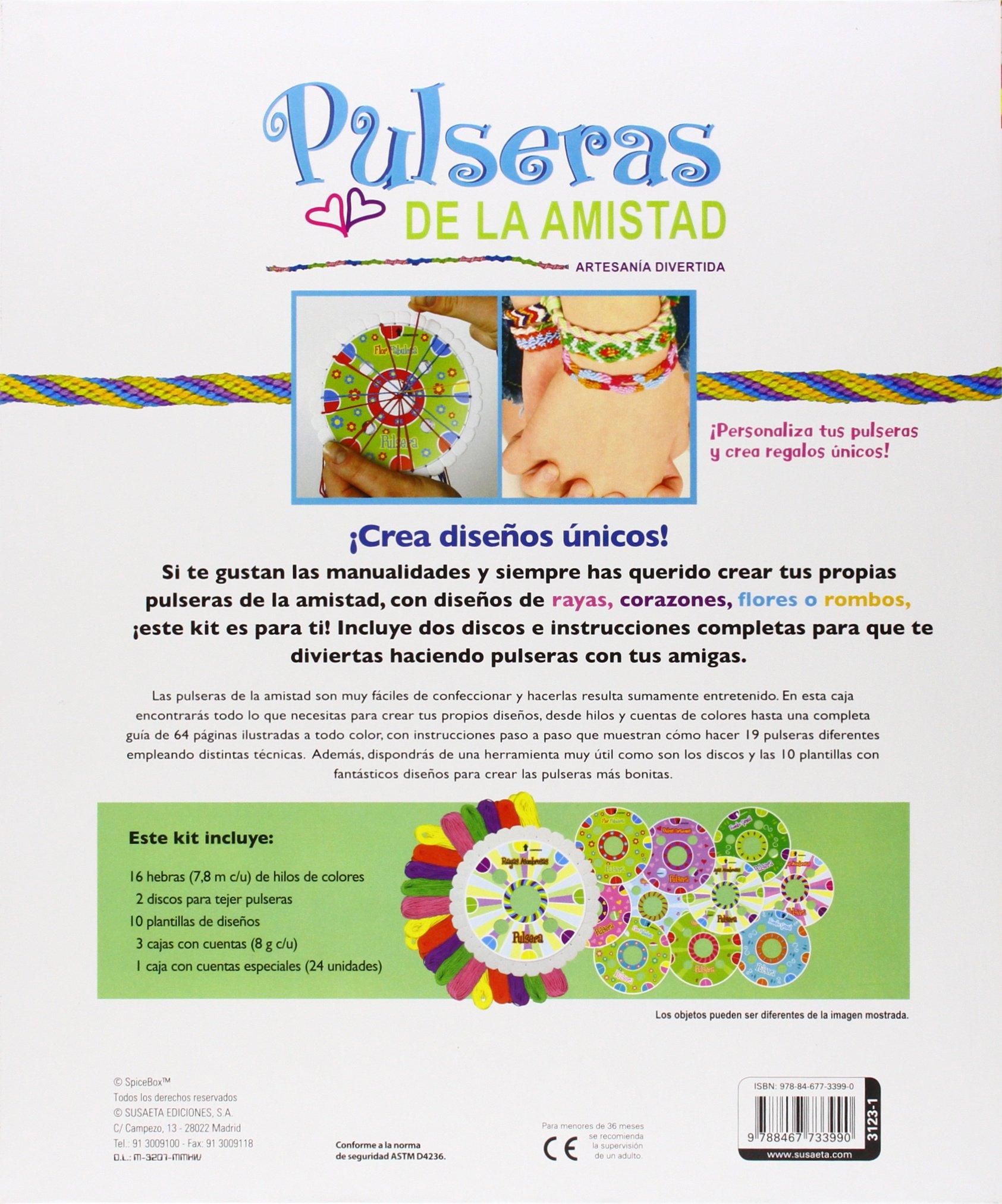 PULSERAS AMISTAD REF. 3123/ 1 SUSAETA: Equipo Susaeta: 9788467733990: Amazon.com: Books