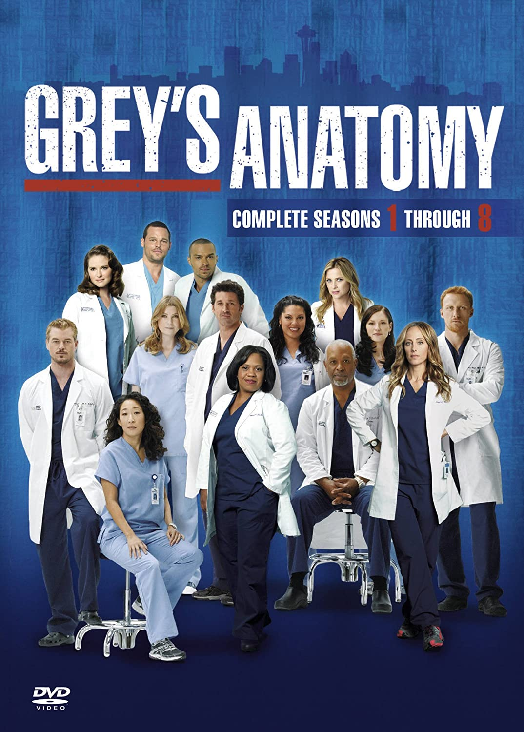 Grey\'s Anatomy - Season 1-8 Complete [DVD]: Amazon.co.uk: Ellen ...