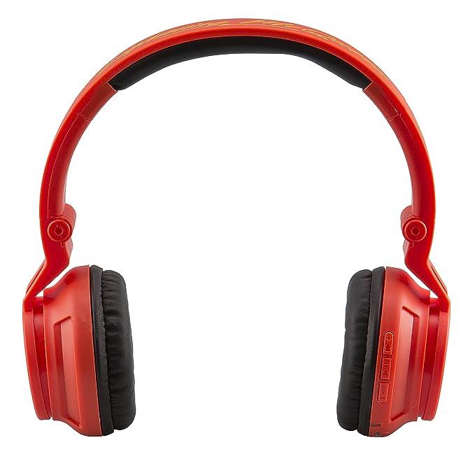 2bfb91919b9 Amazon.com: Cars 3 Bluetooth Headphones Disney Pixar Movie Wireless Kid  Friendly Sound with Lightning McQueen Graphics: Electronics