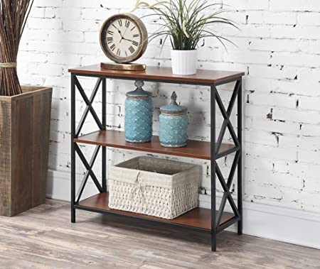 Convenience Concepts Tucson 3-Tier Bookcase, Cherry