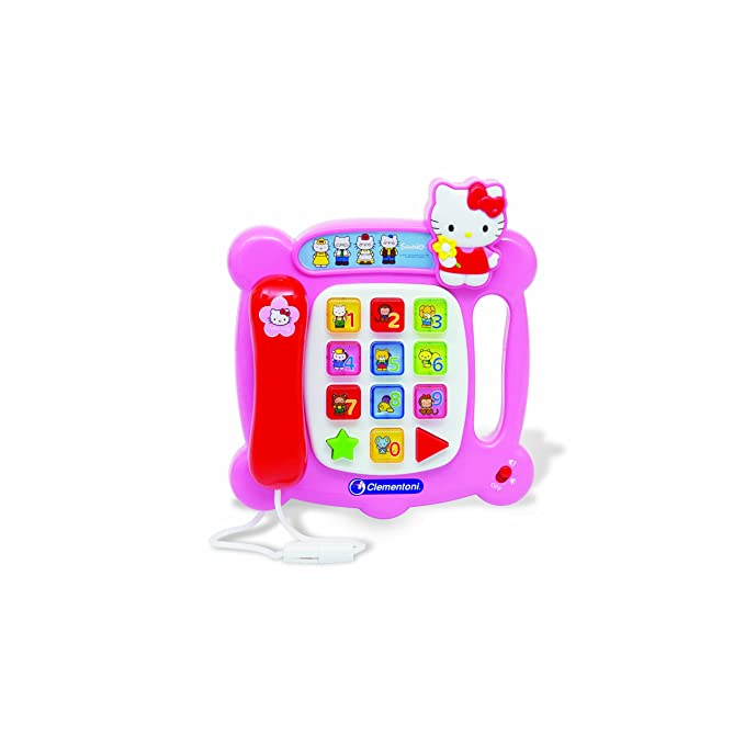 Clementoni 69881.3 - Hello Kitty - Telefon: Amazon.de: Spielzeug
