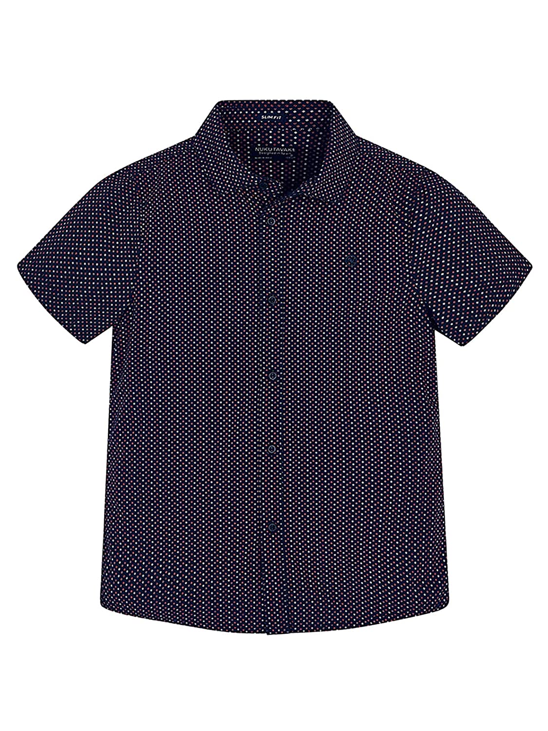 S//s Shirt for Boys Mayoral Navy 6126