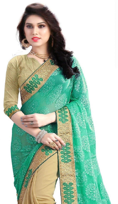Banarasi Georgette Saree With Blouse Piece