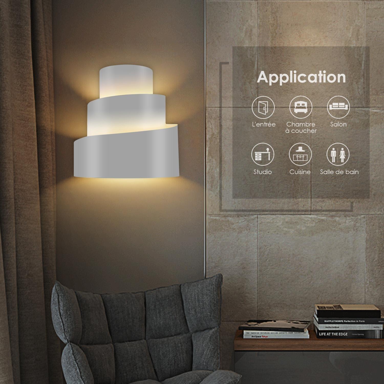 Murale Non E27 Led Applique DécoratifAmpoule Amzdeal Éclairage shxotQrdCB