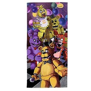 "Franco Kids Super Soft Cotton Beach Towel, 28"" x 58"", Five Nights at Freddy's"