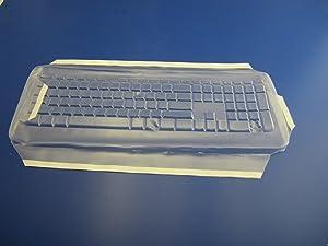 Viziflex's Biosafe Anti Microbial Keyboard cover fitting Microsoft Wireless 800 1455 WUG1008 624G108