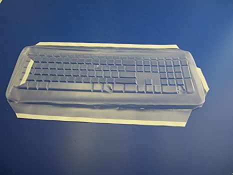 Keyboard not included Part AM365G127 Viziflex Anti-Microbial Keyboard Cover Compatible with Microsoft 3000