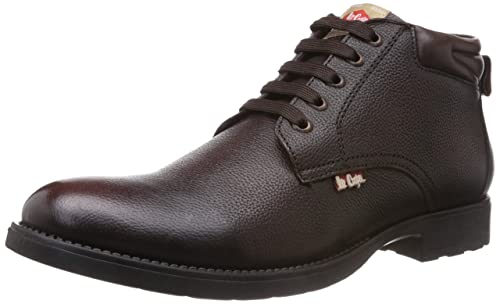 fdde32f166db Lee Cooper Men s Leather Boots  Buy Online at Low Prices in India ...