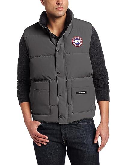 amazon com canada goose men s freestyle vest graphite xx large rh amazon com