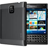 TUDIA LITE TPU Bumper Protective Case for BlackBerry Passport (Not Compatilble with AT&T Version) (Black)